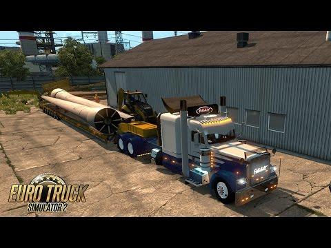 OVERSIZE LOAD I Convoie exceptionnel sur la HUNGARY MAP I Euro Truck Simulator 2 !