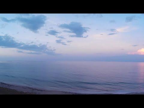 Ocean Sunset - Live Florida Beach Cam - Jensen Beach FL Live WebCam [HD]