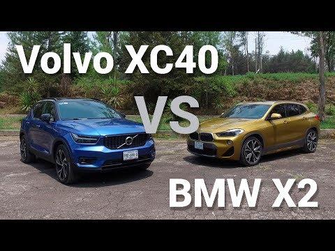 Volvo XC40 VS BMW X2 - Frente a Frente | Autocosmos