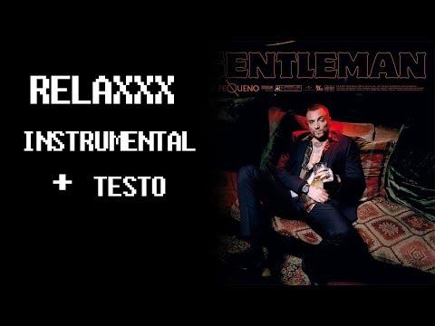 Gue Pequeno ft. Marracash - Relaxxx - INSTRUMENTAL - KARAOKE - TESTO