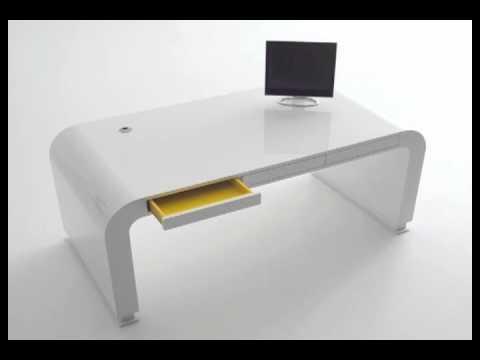 modern minimalist computer desks youtube. Black Bedroom Furniture Sets. Home Design Ideas