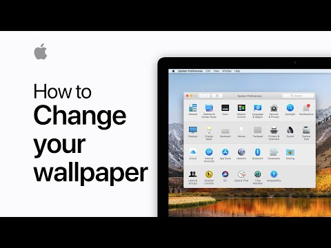 How To Change The Wallpaper On Your Mac — Apple Support