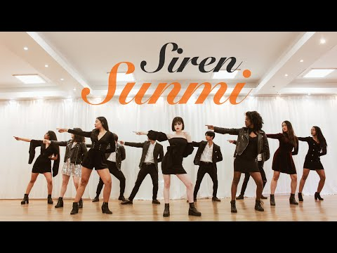 SUNMI(선미) - Siren(사이렌) dance cover by RISIN' CREW from France