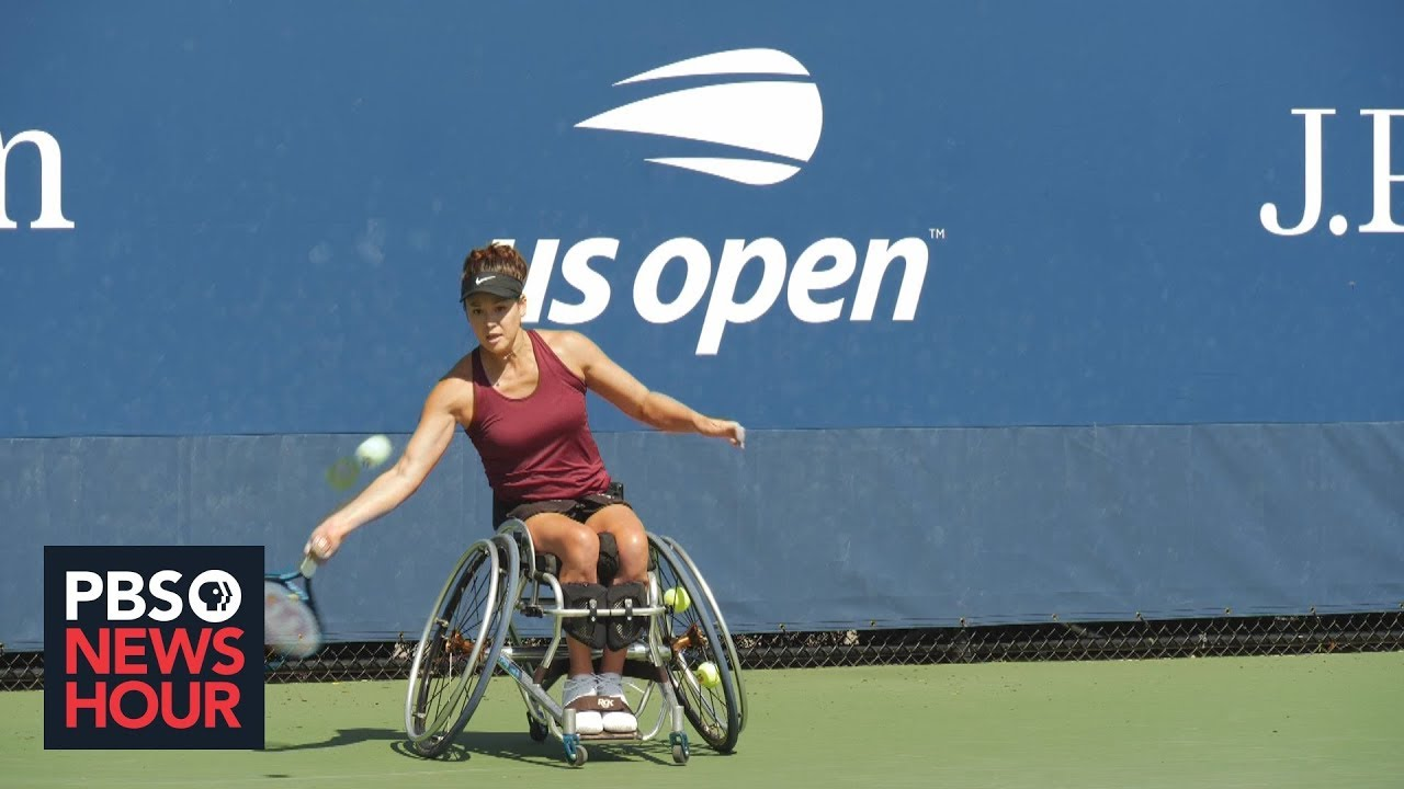 How wheelchair tennis provides a successful model for adaptive sports