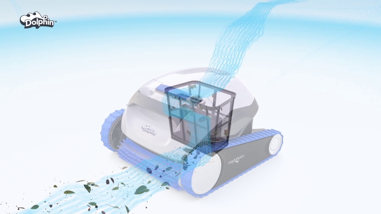 אדיר רובוט לניקוי בריכה דולפין S50 של מיטרוניקס - YouTube IA-67