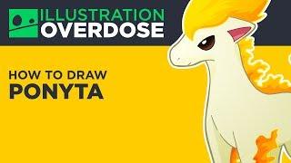 How to Draw Ponyta (Pokemon No. 77)