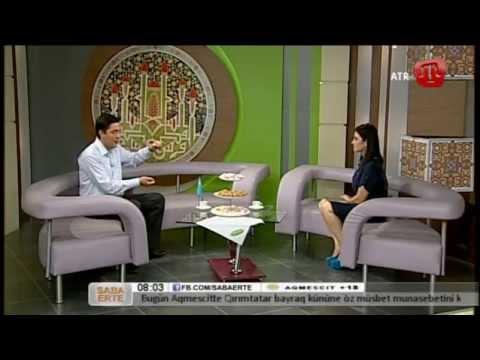 27 İyün (bozarğan) 2014 Saba Erte ATR-de Raim Gafarov Qırımtatarca - 27/06/14 Crimean Tatar TV