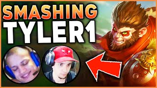PERFECT GAME VS. TYLER1! THE BEST WAY TO PLAY WUKONG - League of Legends