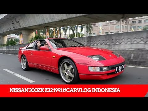 NISSAN FAIRLADY 300 ZX Z32 N/A 1991 TEST RIDE & REVIEW #CARVLOG INDONESIA