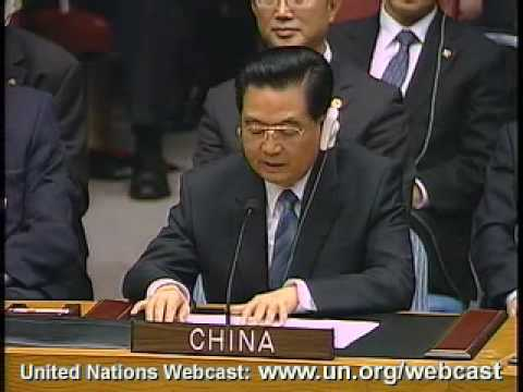 MaximsNewsNetwork: HU JINTAO @ UN: NUCLEAR WEAPONS (English Language)