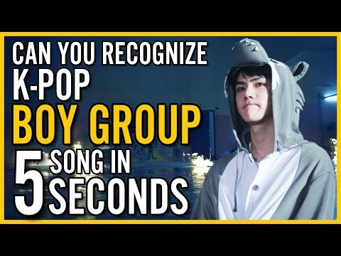 GUESS KPOP BOY GROUP SONGS