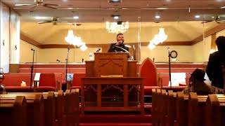 Reverend Cecil Thompson New Years Eve Sunday Sermon at C.G.B.C.