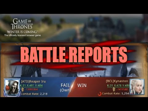 Battle Reports - Guides - Game Of Thrones Winter Is Coming