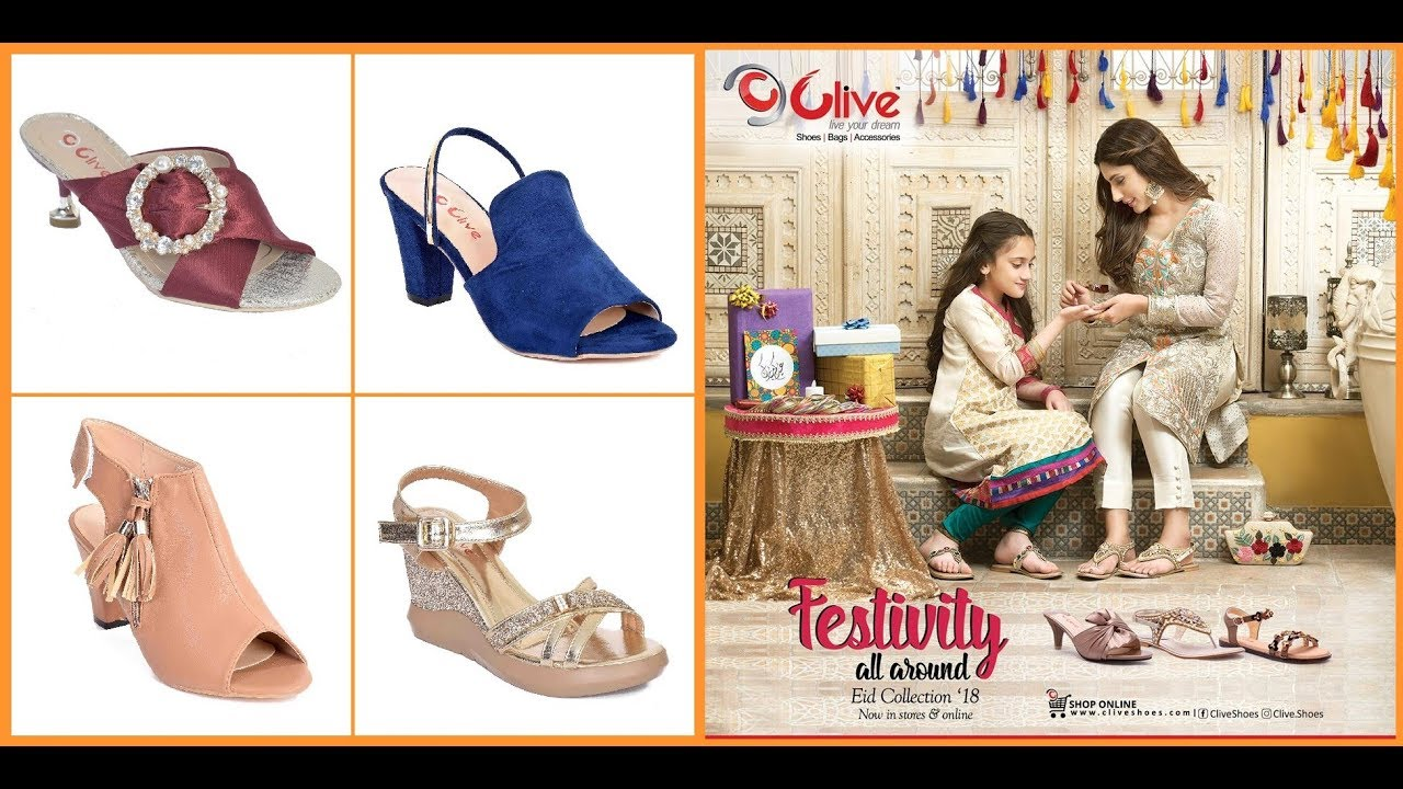 1f5555153849 clive shoes eid collection 2018 summer sandals for women - YouTube