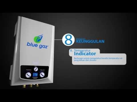 blue gaz Gas Water Heater