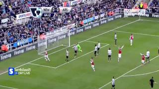 Newcastle vs Arsenal (2013) 0-1 HD