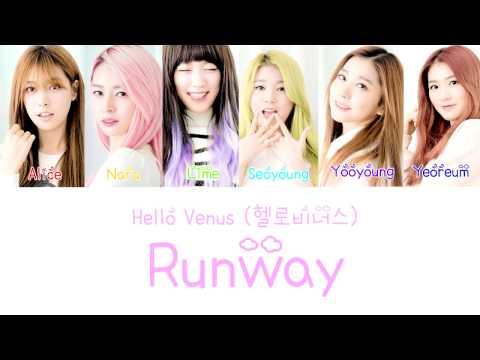 Hello Venus (헬로비너스) - Runway Lyrics (Color Coded) (Han|Rom|Eng)