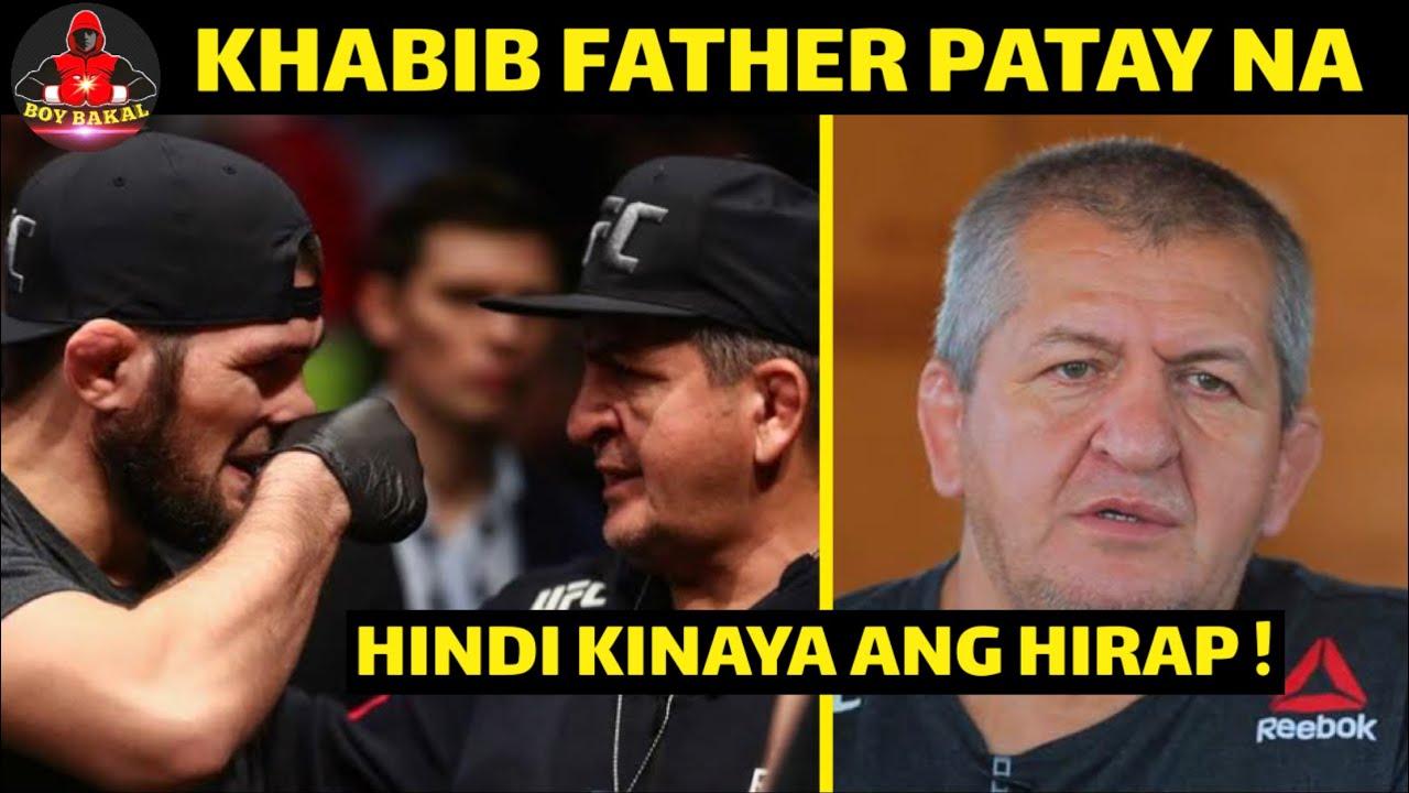 Khabib Patay Na Ang TATAY Niya, Hindi Na kinaya Ang HIRAP Na Dinanas
