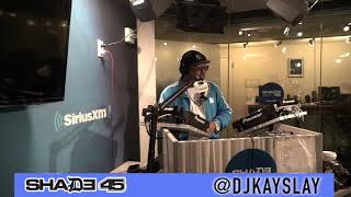 Sauce money Interview with Dj Kayslay at Shade 45 Pt.1