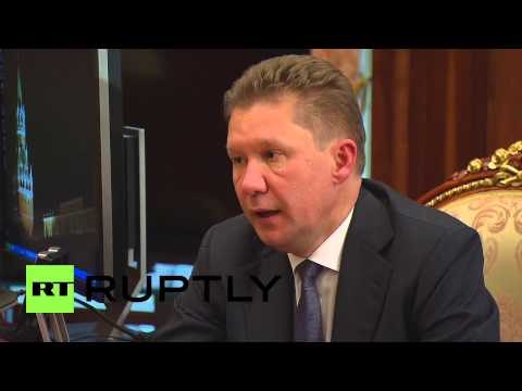 Russia: Gazprom's Miller briefs Putin on gas market and China pipeline
