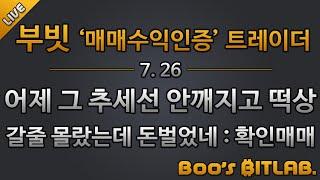 부빗 /특집시황/ 210726/ 비트코인 실시간 방송 …