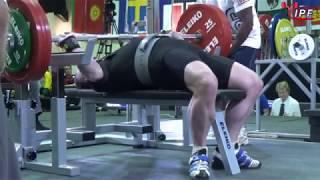 Men M1-M4, 83 kg - World Equipped Bench Press Championships 2018
