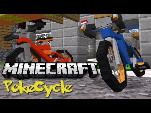 Minecraft: Pokemon Bikes! (PokeCycles Mod Showcase)