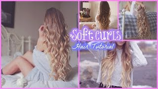One of Alex Centomo's most viewed videos: Soft Curls // Hair Tutorial