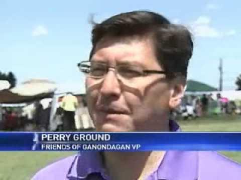 Festival visitors experience Native American culture