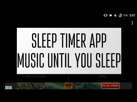 Sleep Timer Review - Turn Music Off Automatically On Android!
