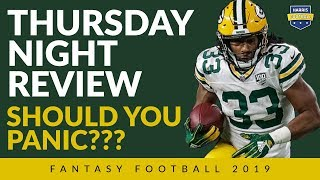 Packers/Bears Fantasy Football Panic:  Sell Everyone! Not Really.