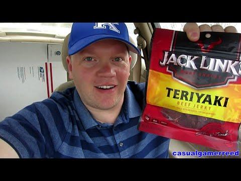 Reed Reviews Jack Links Teriyaki Beef Jerky
