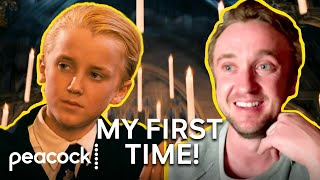 Tom Felton Reacts to His First Scene in Harry Potter