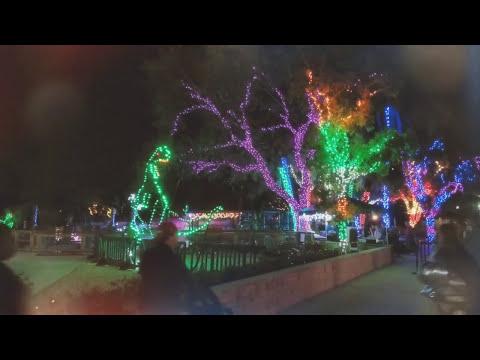 Zoo Lights Miami, Florida Christmas