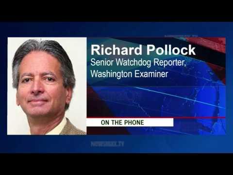 Richard Pollock, senior watchdog reporter for the Washington Examiner