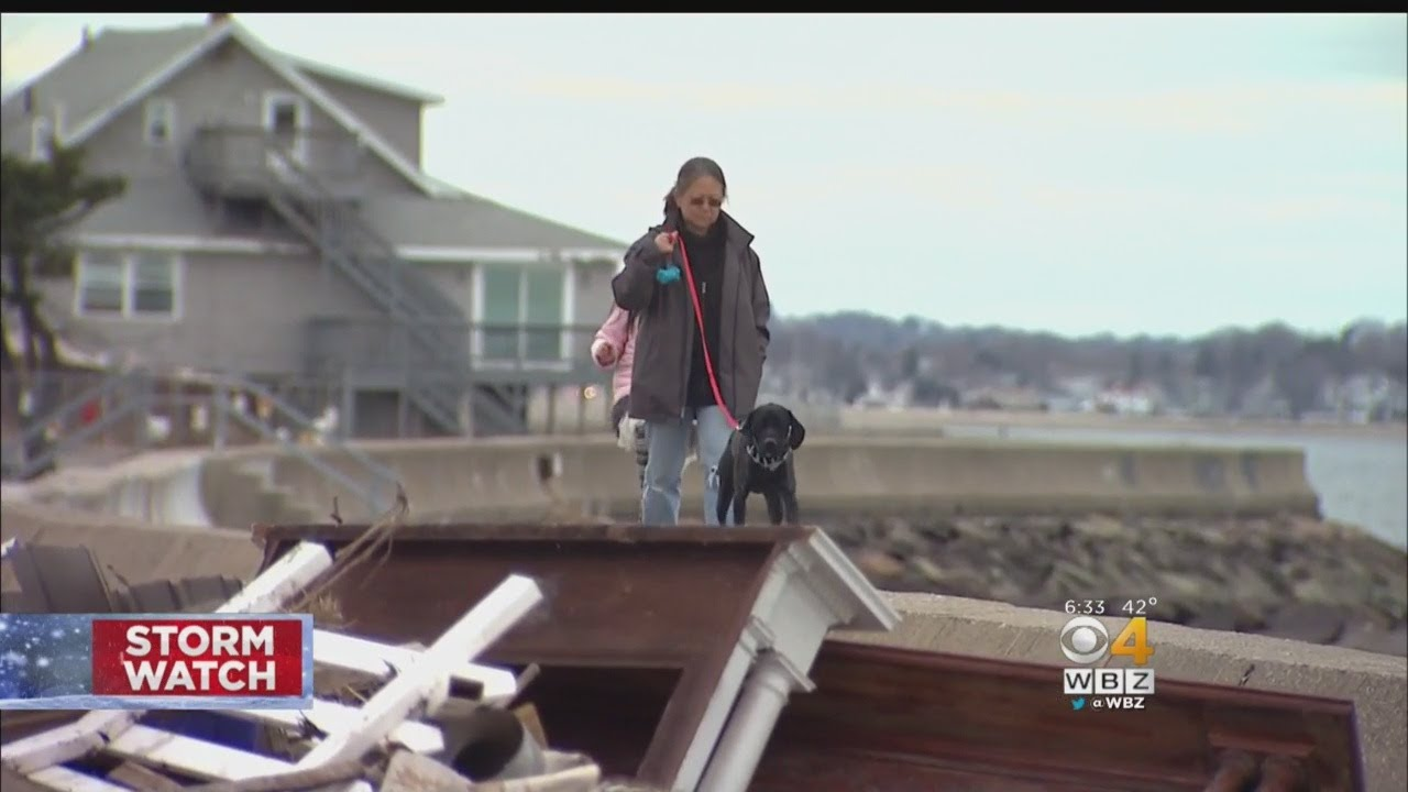Residents Recovering From Previous Nor'easters Dreading Latest Storm