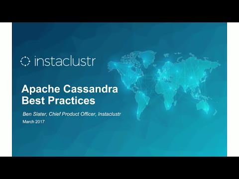 Apache Cassandra Best Practices - Live Webinar