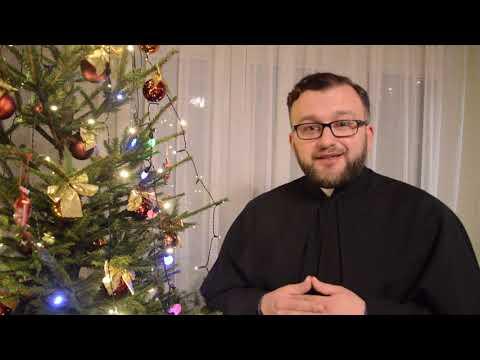 Życzenia na Boże Narodzenie – ks. Mariusz Zakrzewski SAC, Sekretariat Misyjny