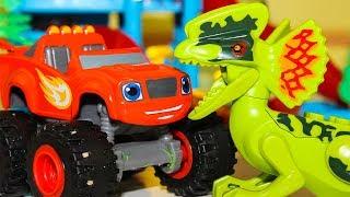 Мультики про машинки Вспыш и чудо машинки против Ромео #Героивмасках Игрушки Мультфильмы для детей