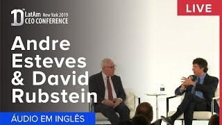 10° CEO Conference New York 2019: André Esteves e David Rubenstein-EN