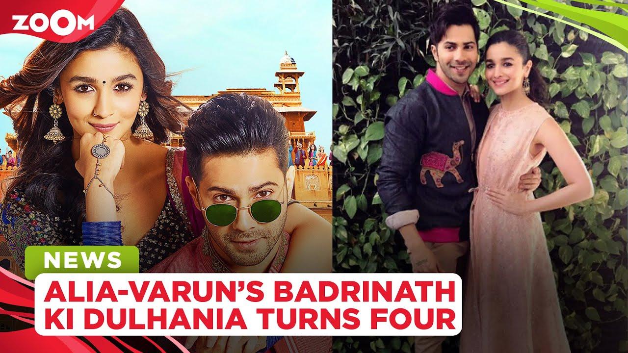 Alia Bhatt & Varun Dhawan celebrate four years of Badrinath Ki Dulhania with fun social media posts