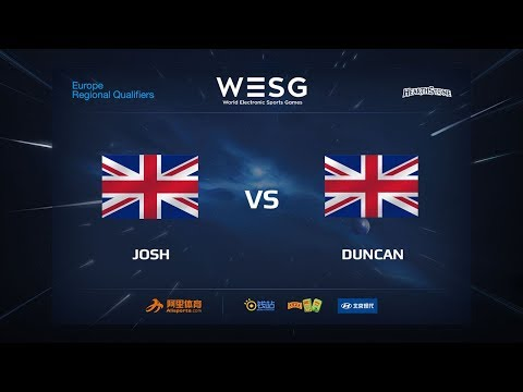 JOSH vs DUNCAN, Semi-final, WESG 2017 Britain+Iceland Qualifier