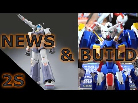 A NEW GM, Gundam Vual, & Sticker Hell - Gunpla Building w/ News (February 2017)