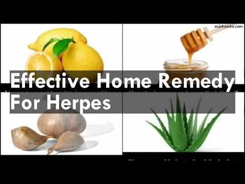 Home Remedy For Herpes