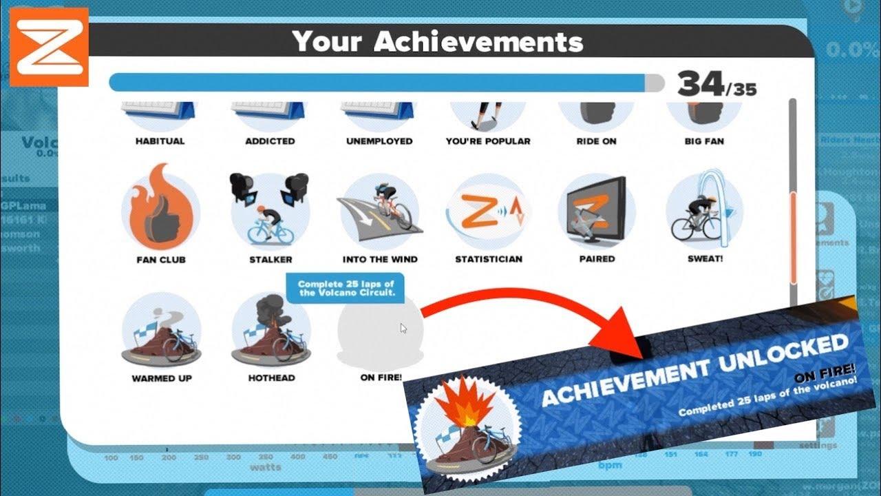 Swift Zwift Tip: Unlocking All The In-Game Achievements