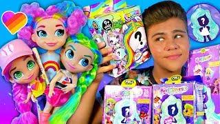 Подделка ПРОТИВ Оригинал!? 🤨 #Hairdorables Куклы из Likee 💖 Открываю слайм сюрпризы!