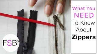 Identifying Different Zippers