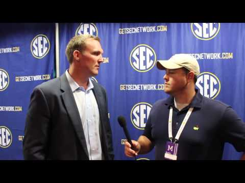 Matt Stinchcomb Talks Georgia at SEC Media Days