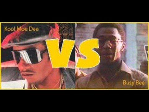 Busy Bee Vs. Kool Moe D (the original battle!!) - YouTube