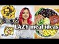 My Go-To CHEAP & LAZY VEGAN MEAL IDEAS (breakfast, lunch, dinner)